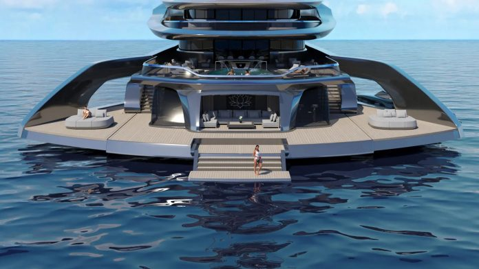 Superiate Indah beach club - boat shopping