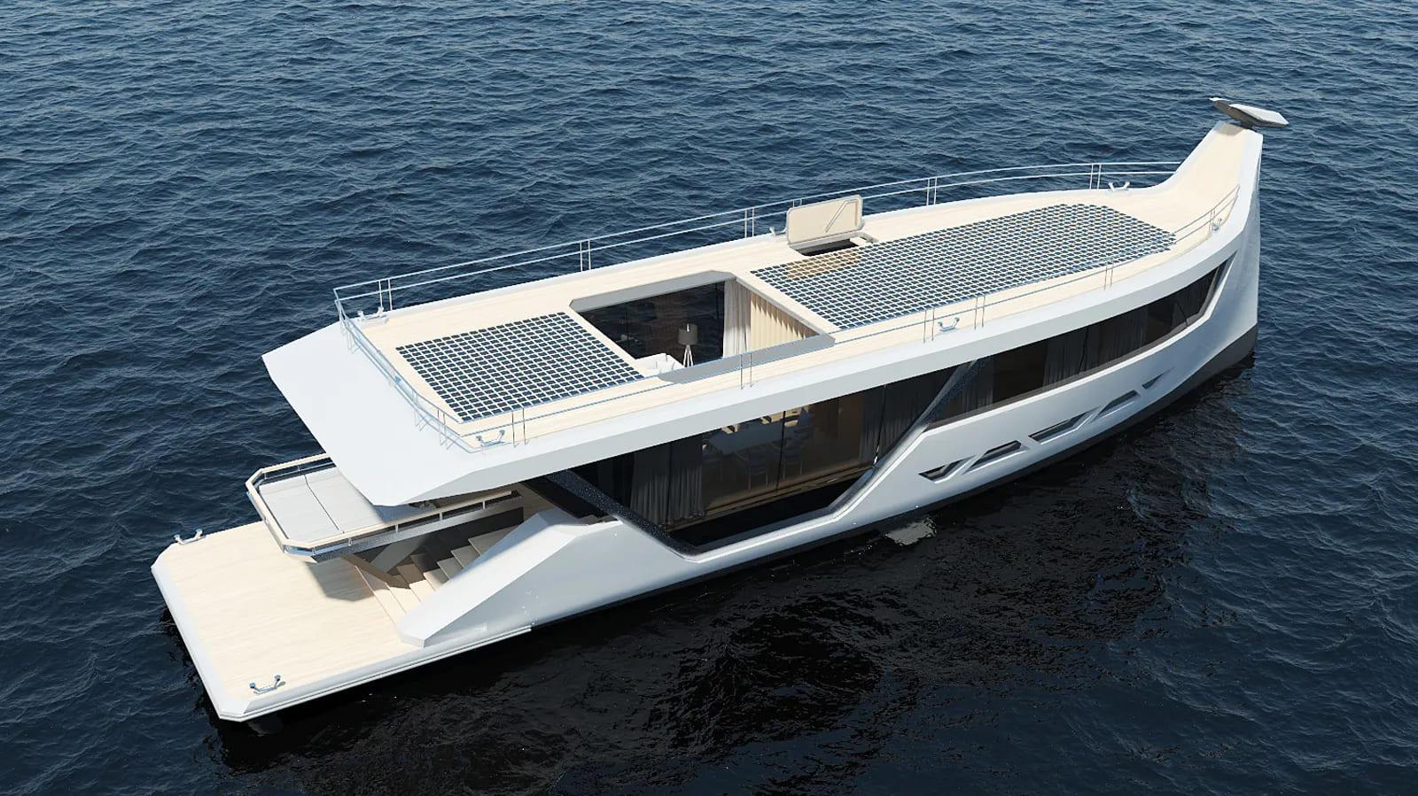 Drakkar S iate conceito - boat shopping