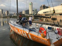 Itajaí sailing team - boat shopping