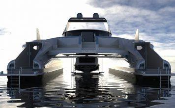 catamarã anfíbio energia solar - boat shopping