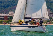 segundo dia do 32º Circuito Oceânico da Ilha de Santa Catarina - boat shopping