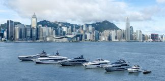 ferretti group fleet premios asia - boat shopping