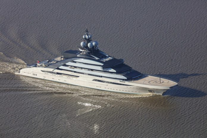 Lurssen entrega superiate Nord - boat shopping