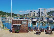 Marina Itajaí ponto de venda da Fibrafort - boat shopping