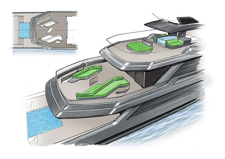 Superiate conceito Isola - boat shopping