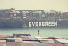 navio encalhado evergreen - boat shopping 1