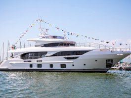 Benetti BD111 Delfino 95 launch ceremony - boat shopping