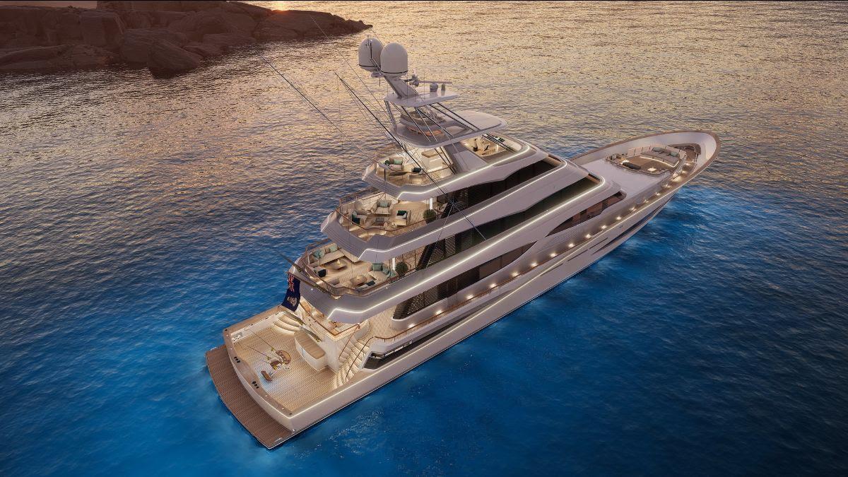Projeto 406 maior iate de pesca do mundo - boat shopping