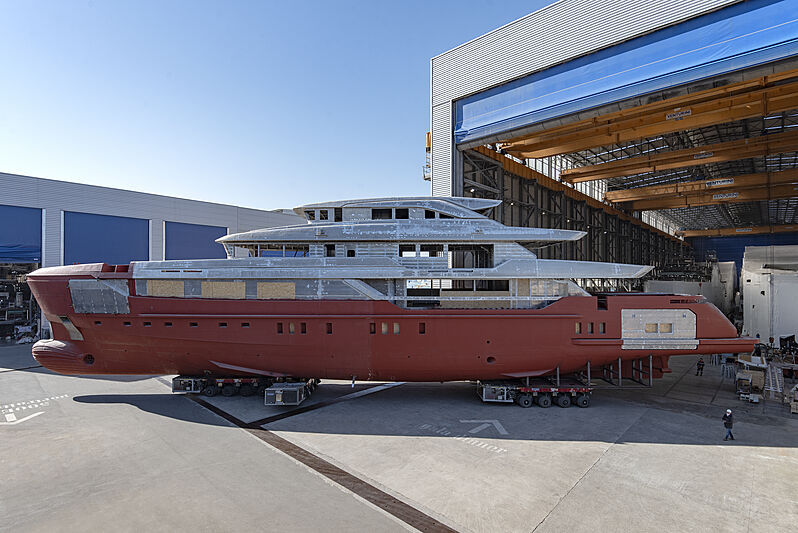 Sanlorenzo 57Steel construção - boat shopping
