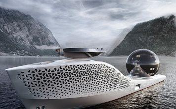 Superiate científico Earth300 - boat shopping