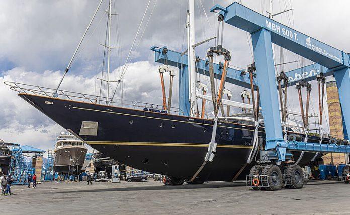super veleiro morning glory refit - boat shopping