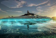 Projeto Sunrise Gigaiate conceito 443 pés - boat shopping