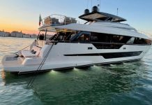 Ferretti Yachts 1000 lançamento venice boat show - boat shopping