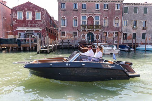 Magonis Wave e-550 barco elétrico - boat shopping