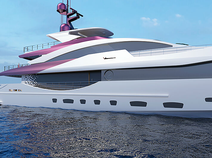 Superyacht conceito Etere - boat shopping