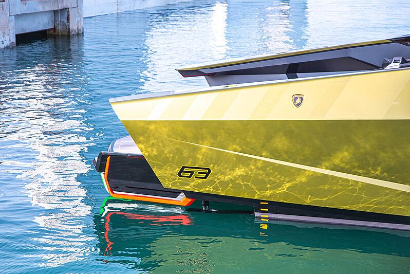 Tecnomar for Lamborghini 63 lançado - boat shopping
