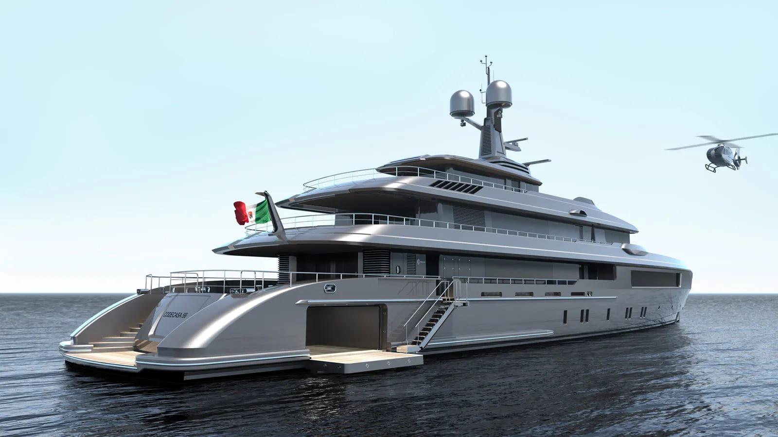 Codecasa Hull C127 iate - boat shopping