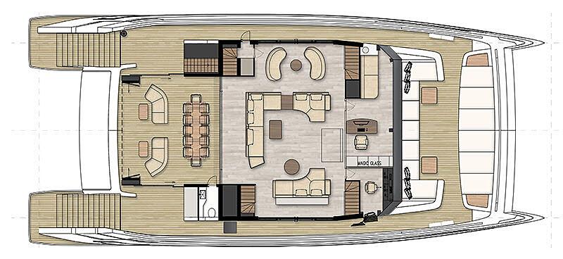 Novo conceito catamarã Sunreef - boat shopping