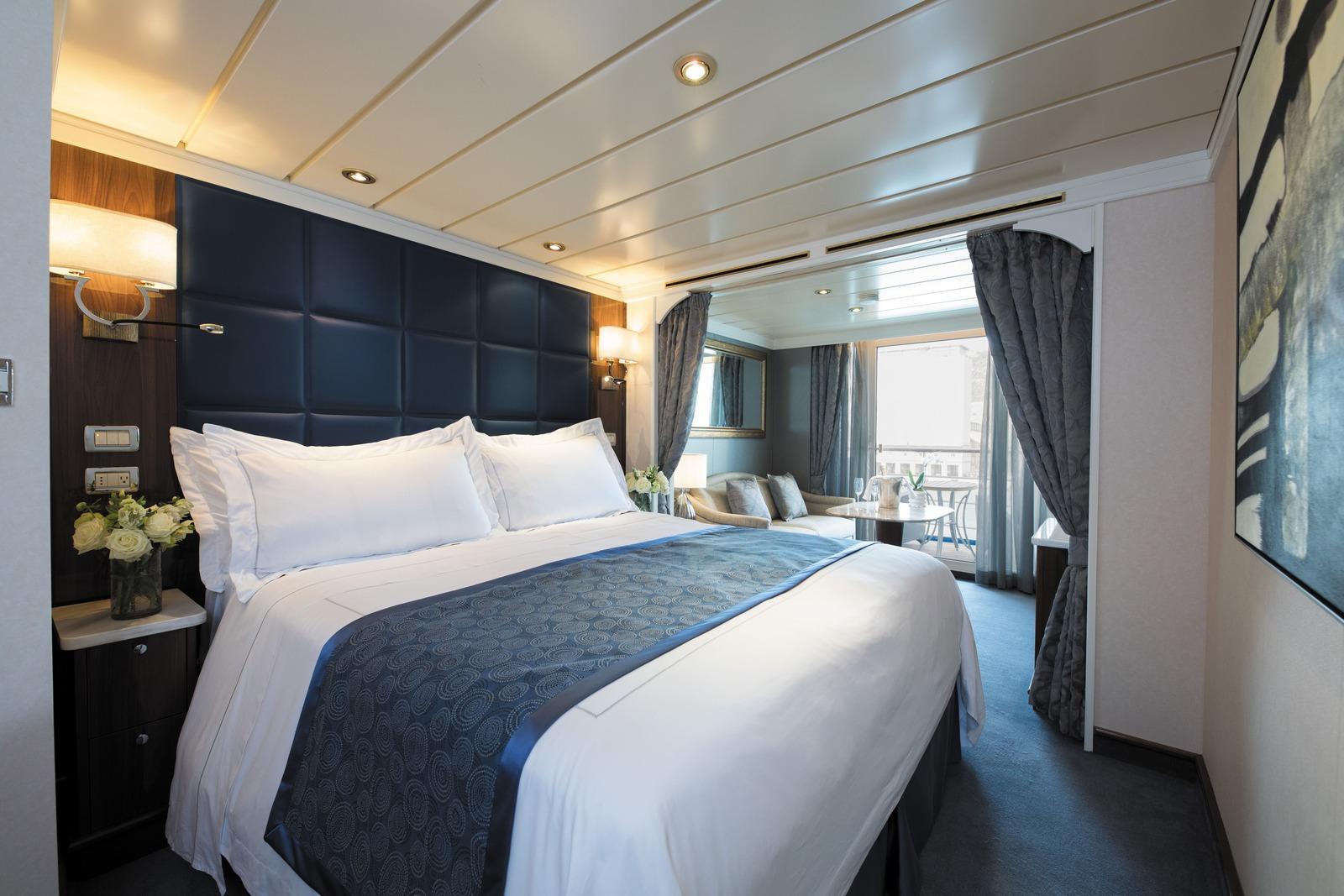 Regent Seven Seas Cruises Cruzeiro de Volta ao Mundo - boat shopping