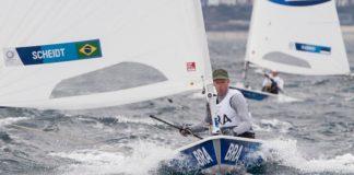 Robert Scheidt em Tokio Olimpiadas - boat shopping