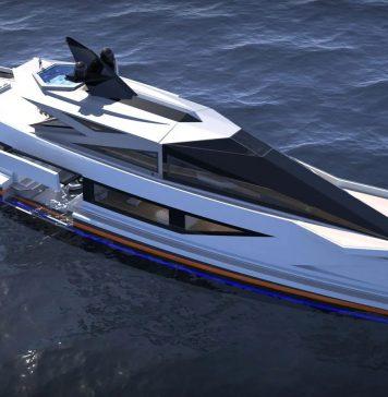 Superiate conceito de fibra de carbono Saturnina - boat shopping