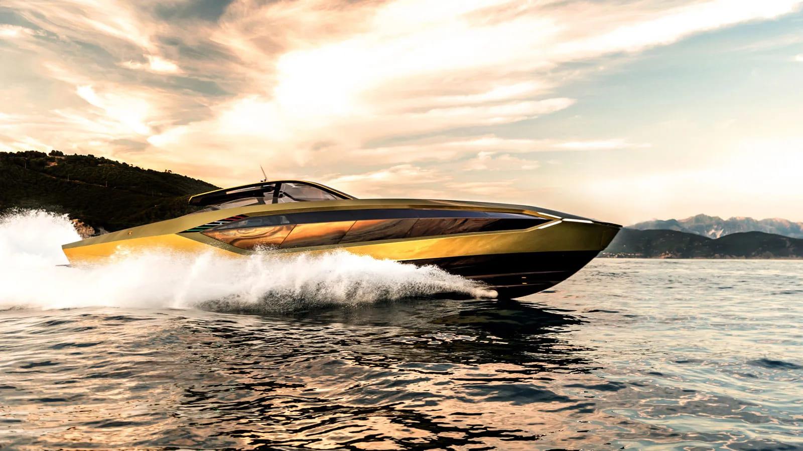 Tecnomar for Lamborghini 63 - boat shopping