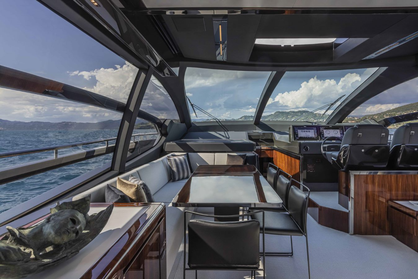 Riva 76 Perseo Super boat shopping 10