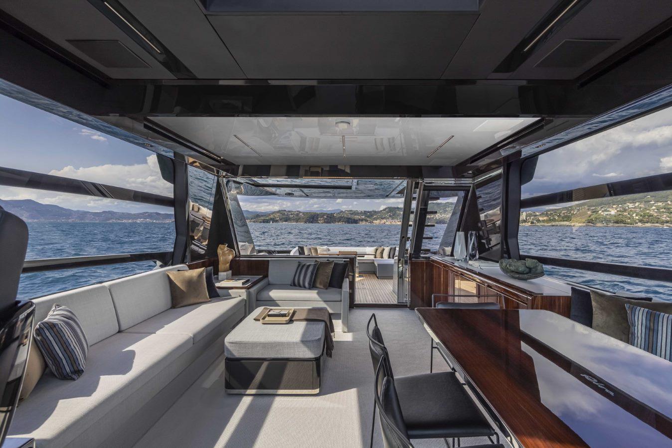 Riva 76 Perseo Super boat shopping 7
