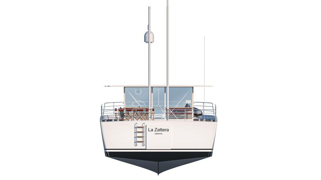 Zattera 24M boat shopping 3