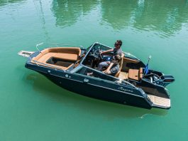 magonis wave e-550 boat shopping 2